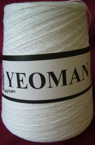 Yeoman Soft Cotton Yarn 2ply - White